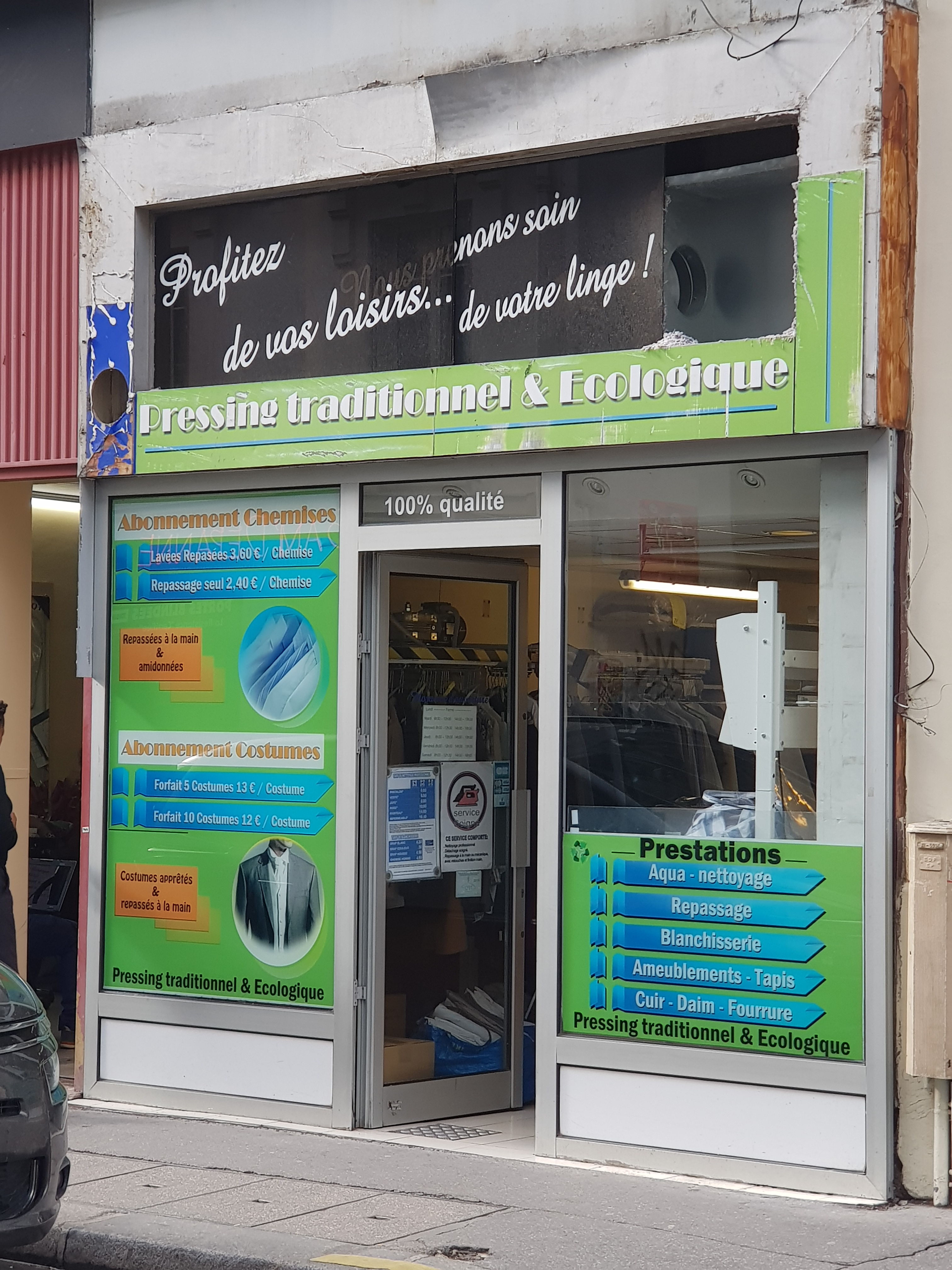 Fonds de commerce Pressing Paris 11